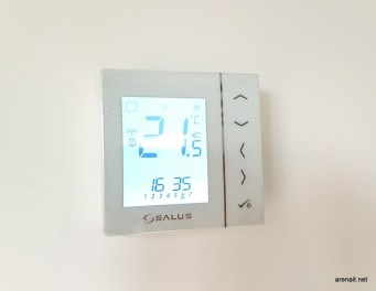 Termostat Salus IT600 - iluminare