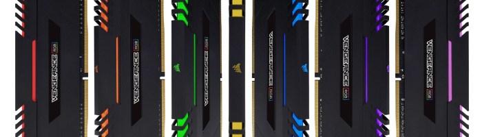 Corsair anunță primele module DDR4 cu iluminare RGB
