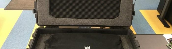 Acer Predator 21X - primul contact cu un extraterestru