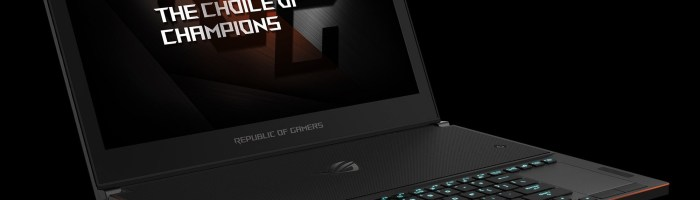 ASUS a prezentat ROG Zephyrus, cel mai subtire laptop de gaming din lume