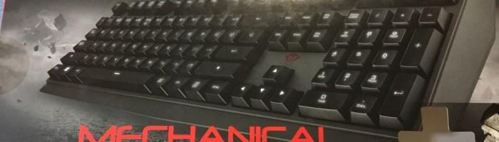 Tastatura Trust GXT 880 - PRO si CONTRA
