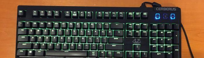 ASUS Cerberus Mech RGB – o tastatura mecanica RGB