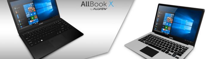 Allview a lansat doua notebook-uri