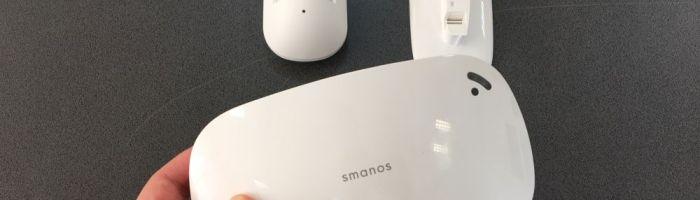 Sistem de alarma Smanos X300 – cum se poate instala si controla de la distanta