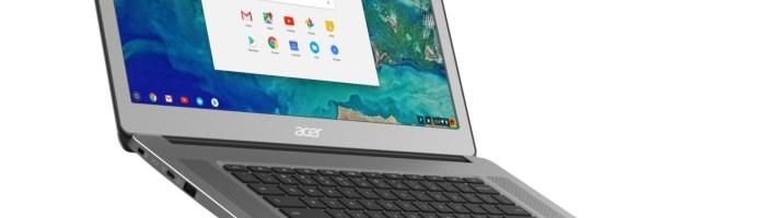 Acer Chromebook cu ecran de 15.6 inch