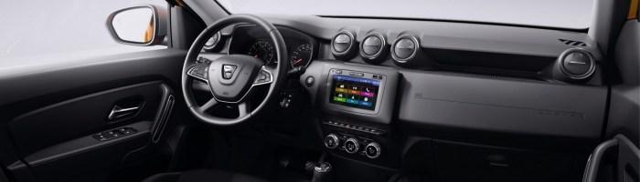 Dacia Duster 2018 - poze oficiale cu interiorul