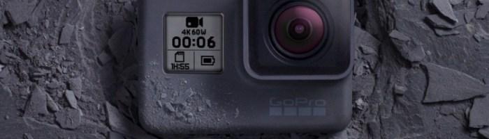 GoPro Hero 6 Black - filmare 4K la 60FPS
