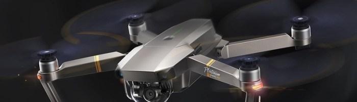 Drona DJI Mavic Pro Platinum – pret bun la un retailer din China cu transport gratuit in Romania