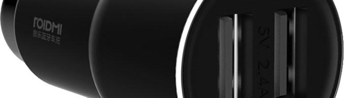 Xiaomi ROIDMI 3S in Romania: muzica prin bluetooth si incarcator auto in acelasi timp