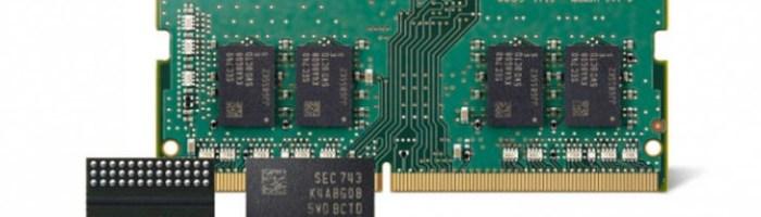Samsung incepe productia de memorie RAM in 10nm