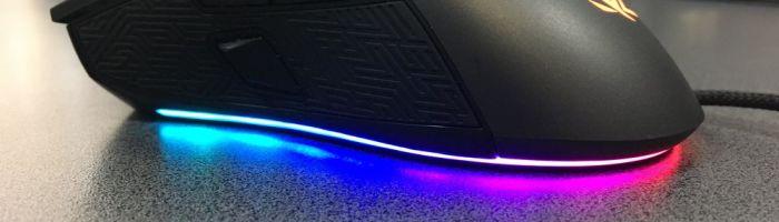 Review ASUS ROG Gladius II – mouse performant cu iluminare RGB