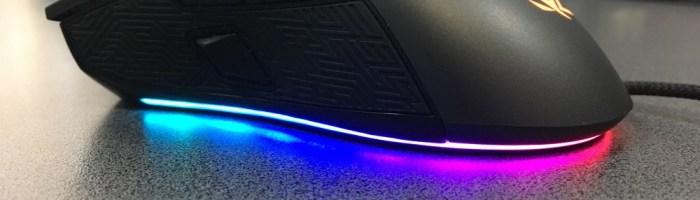 Review ASUS ROG Gladius II - mouse performant cu iluminare RGB