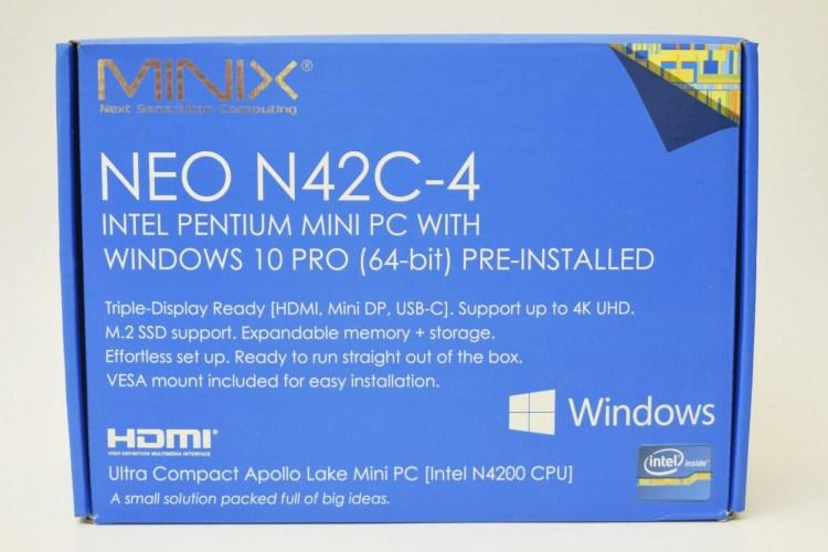 Review Mini PC Minix N42C-4