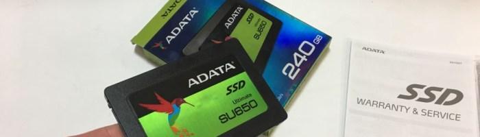 SSD ADATA SU650 - viteze bune la pret accesibil