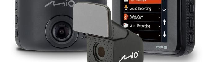 Mio a lansat MiVue C380 Dual – camera auto Full HD
