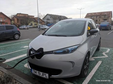 Renault Zoe incarcare