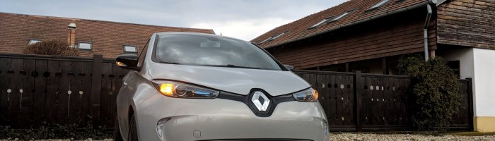Renault Zoe 40 2017 (100% electric) review: o masina din viitor