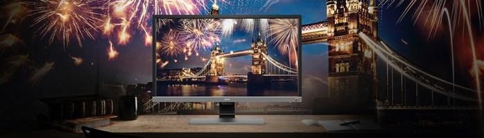 BenQ a anuntat monitorul EL2870 cu rezolutie 4K, 1ms si HDR10