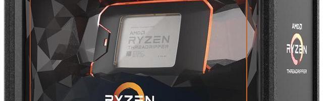 Noile procesoare AMD Ryzen Threadripper sunt disponibile de astazi