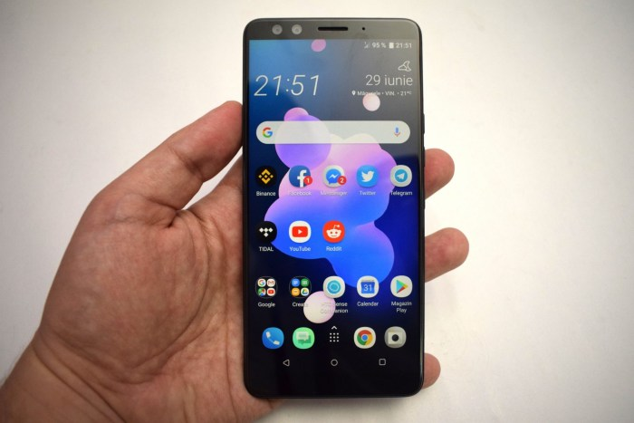 Review HTC U12 Plus - flagship-ul meu preferat in 2018