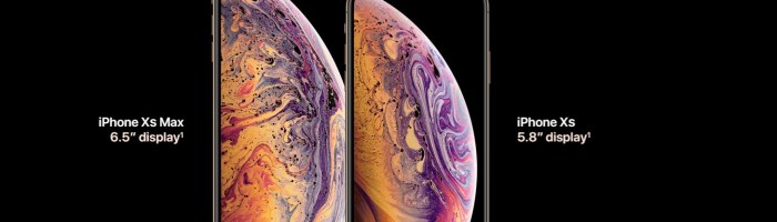 Apple iPhone Xs si Xs Max lansate: procesor nou (A12 Bionic) si display de 5.8 si 6.5 inch