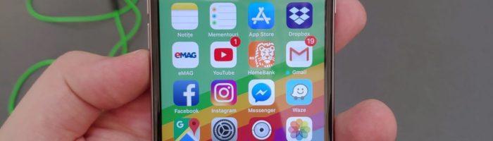 iOS 12 este instalat pe 50% dintre dispozitive Apple in mai putin de o luna
