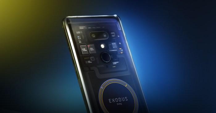 HTC Exodus - telefon pentru blockchain si criptomonede