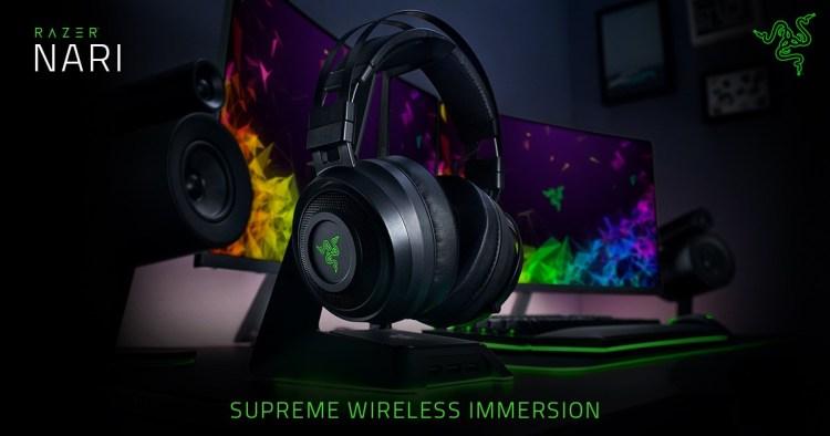 Razer anunta castile de gaming wireless NARI cu efecte haptice