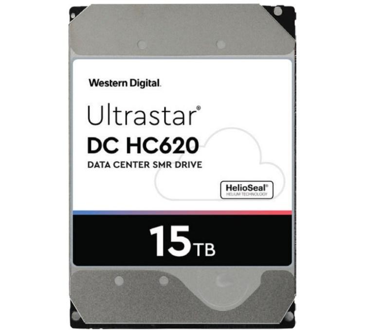 Western Digital a lansat un HDD de 15TB