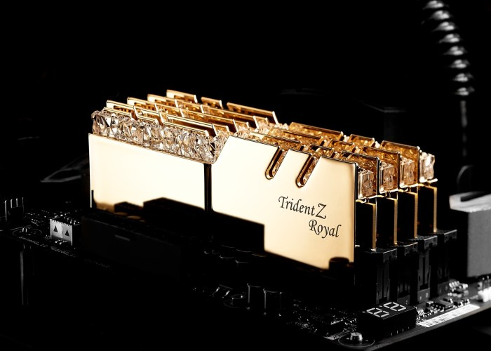 G.Skill Trident Z Royal - kit memorie RAM DDR4 cu design unic