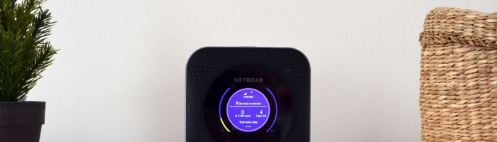 Netgear Nighthawk M1 MR1100 Review: router mobil LTE