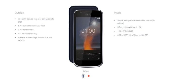 Nokia 1: cel mai ieftin telefon Nokia cu Android, 100 lei la Black Friday