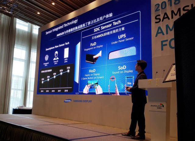 Samsung ofera in 2019 senzor de amprenta sub ecran pe telefoanele mid-range