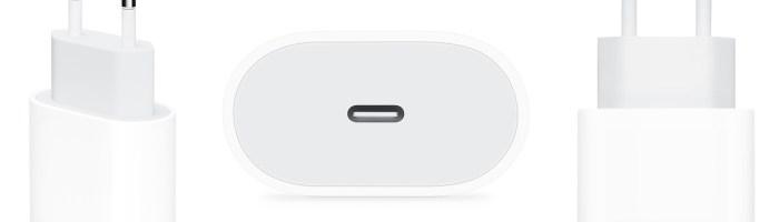 Apple a adus pe piata un incarcator rapid de 18W