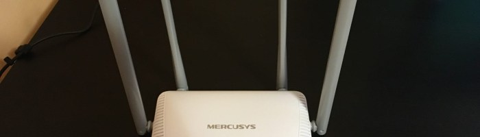 Impresiile despre router-ul Mercusys MW325R si range extender-ul MW300RE + CONCURS