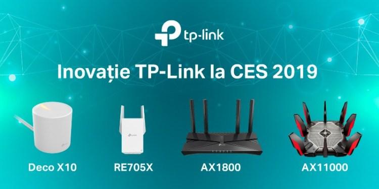CES 2019: TP-Link a prezentat 4 produse noi