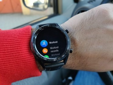 Huawei Watch GT menu1