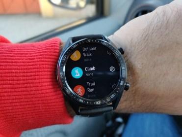 Huawei Watch GT menu2