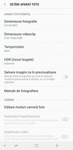 Samsung Galaxy A9 interfata (6)