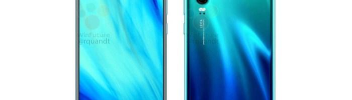 Asa arata Huawei P30 si P30 Pro inainte de lansare