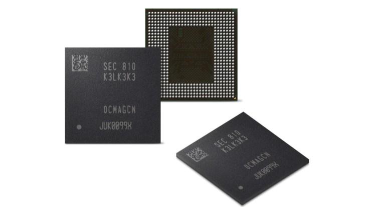 Avem oficial si memoria LPDDR5