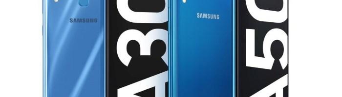 Samsung a lansat Galaxy A30 si A50