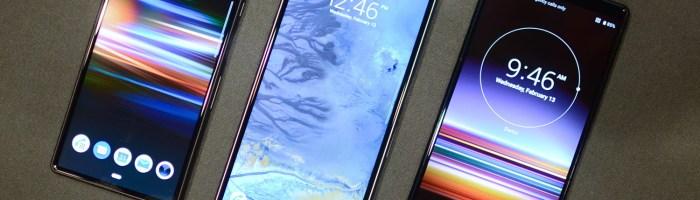 Sony Xperia 1 - primul ecran OLED 4K pe un smartphone