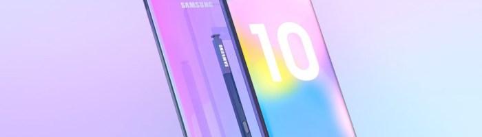 Galaxy S10 dicteaza design-ul pentru Note 10