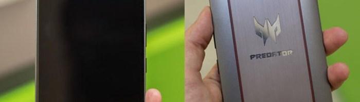 Acer Predator 6 a fost primul telefon de gaming lansat in 2015