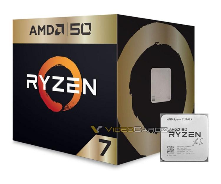 AMD aniverseaza cei 50 de ani de activitate cu un procesor special