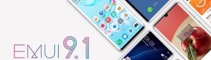 EMUI 9.1 pentru 49 terminale Huawei