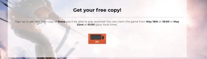 Steep este gratis pe Uplay