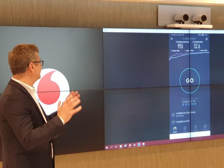 Vodafone lanseaza in premiera 5G in Romania
