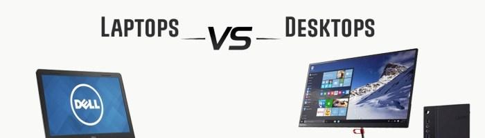 Sondaj: folosesti desktop sau laptop?